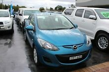 2013 Mazda 2 DE10Y2 MY14 Neo Blue Manual Hatchback South Maitland Maitland Area Preview