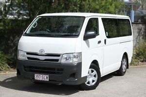 2012 Toyota Hiace KDH201R MY12 LWB White 4 Speed Automatic Van Underwood Logan Area Preview