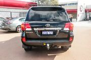 2013 Toyota Landcruiser VDJ200R MY12 Sahara Black 6 Speed Sports Automatic Wagon Fremantle Fremantle Area Preview