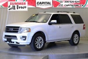 2017 Ford Expedition Limited 4WD*Nav*Leather*Sunroof*