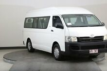 2007 Toyota Hiace KDH223R MY07 Commuter White 5 Speed Manual Bus Smithfield Parramatta Area Preview