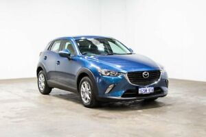 2017 Mazda CX-3 DK2W7A Maxx SKYACTIV-Drive Blue 6 Speed Sports Automatic Wagon Welshpool Canning Area Preview