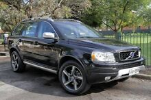 2012 Volvo XC90 P28 MY12 R-Design Geartronic Black 6 Speed Sports Automatic Wagon Eastwood Burnside Area Preview