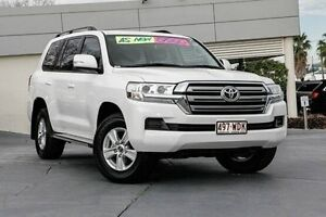 2015 Toyota Landcruiser VDJ200R GXL White 6 Speed Sports Automatic Wagon Yeerongpilly Brisbane South West Preview