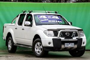 2007 Nissan Navara D40 ST-X White 5 Speed Automatic Utility Ringwood East Maroondah Area Preview