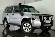 2007 Mitsubishi Pajero NS GLX Silver Semi Auto Wagon Underwood Logan Area Preview