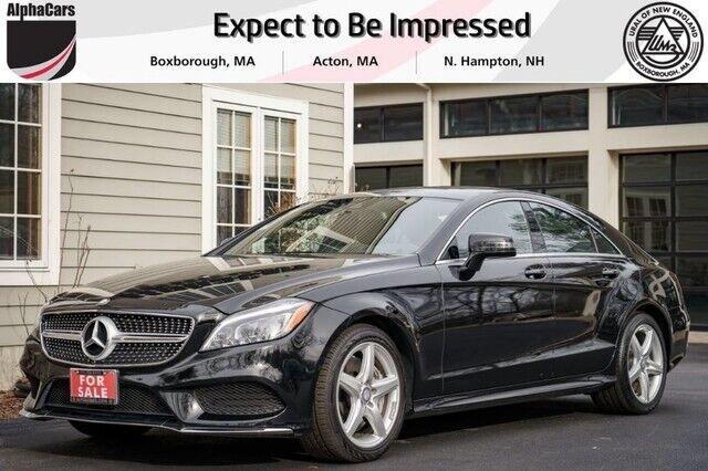 Image 1 Voiture Européenne d'occasion Mercedes-Benz CLS-Class 2016