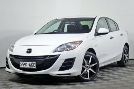 2010 Mazda 3 BL10F1 Neo Activematic White 5 Speed Sports Automatic Sedan Edwardstown Marion Area Preview
