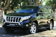 2015 Toyota Landcruiser Prado KDJ150R MY14 GXL Black 5 Speed Sports Automatic Wagon Hawthorn Mitcham Area Preview
