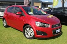 2014 Holden Barina TM MY15 CD Red 5 Speed Manual Hatchback Pearsall Wanneroo Area Preview
