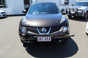 2013 Nissan Juke F15 MY14 Ti-S AWD Coyote Brown 1 Speed Constant Variable Hatchback