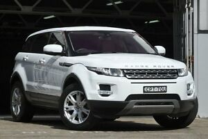 2013 Land Rover Evoque LV MY13 SD4 Pure White 6 Speed Automatic Wagon Mosman Mosman Area Preview