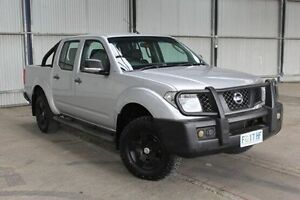 2009 Nissan Navara D40 ST-X Silver 6 Speed Manual Utility Derwent Park Glenorchy Area Preview