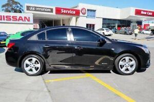 2011 Holden Cruze JH Series II MY11 SRi-V Black 6 Speed Manual Sedan