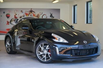 2016 Nissan 370Z Z34 MY15 Black 6 Speed Manual Coupe Willagee Melville Area Preview