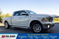 2018 Ram 1500 Longhorn, Leather, Tonneau Cover, One Owner Cowichan Valley / Duncan British Columbia Preview