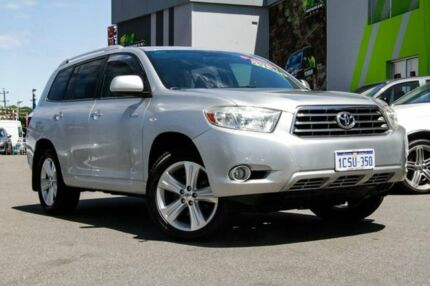 2008 Toyota Kluger GSU40R Grande 2WD Silver 5 Speed Sports Automatic Wagon Myaree Melville Area Preview