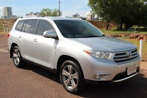 2012 Toyota Kluger GSU40R MY12 KX-S 2WD Silver Pearl 5 Speed Automatic Wagon The Gardens Darwin City Preview
