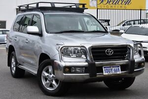 2011 Toyota Landcruiser UZJ200R MY10 Altitude Silver Pearl 5 Speed Sports Automatic Wagon Claremont Nedlands Area Preview