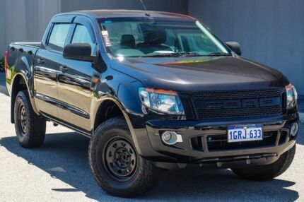 2014 Ford Ranger PX XLS Double Cab Black 6 Speed Sports Automatic Utility Osborne Park Stirling Area Preview