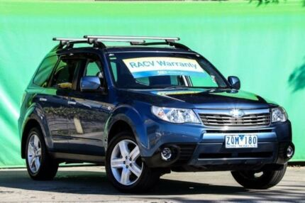 2010 Subaru Forester S3 MY10 XS AWD Premium Blue 4 Speed Sports Automatic Wagon Ringwood East Maroondah Area Preview