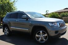 2012 Jeep Grand Cherokee  Grey Sports Automatic Wagon Nailsworth Prospect Area Preview