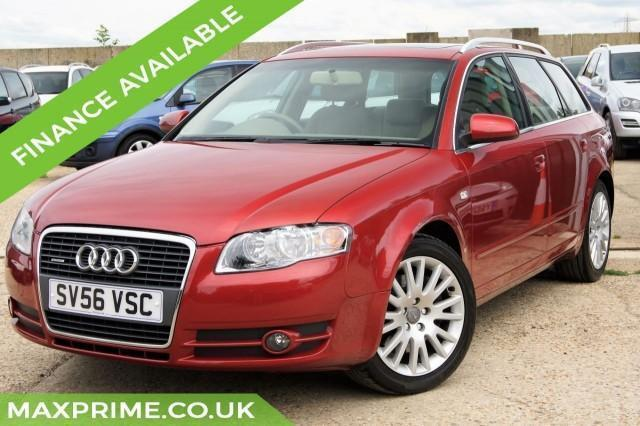 AUDI A4 AVANT 3.2 V6 FSI QUATTRO SAPPHIRE RED 5D AUTOMATIC 255 BHP 2 OWNERS