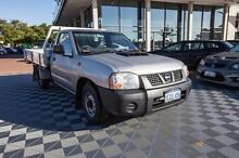 2008 Nissan Navara D22 MY2008 DX Silver 5 Speed Manual Cab Chassis Alfred Cove Melville Area Preview