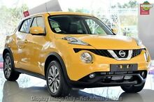 2015 Nissan Juke F15 Series 2 TI-S (AWD) Bumblebee Yellow Continuous Variable Wagon Gymea Sutherland Area Preview