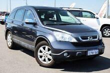 2007 Honda CR-V MY07 (4x4) Luxury Grey 5 Speed Automatic Wagon Wangara Wanneroo Area Preview