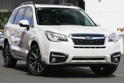 2017 Subaru Forester S4 MY18 2.5i-S CVT AWD White 6 Speed Constant Variable Wagon Mount Gravatt Brisbane South East Preview