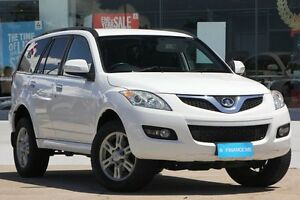 2012 Great Wall X200 K2 MY12 White 6 Speed Manual Wagon Kippa-ring Redcliffe Area Preview