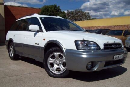2002 Subaru Outback MY02 White 4 Speed Automatic Wagon