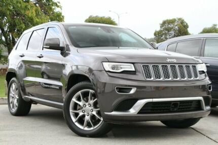 2015 Jeep Grand Cherokee WK MY15 Summit Grey 8 Speed Sports Automatic Wagon