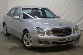 2009 Mercedes-Benz E Class 2.1 E220 CDI AVANTGARDE 4d AUTO 168 BHP Diesel silver
