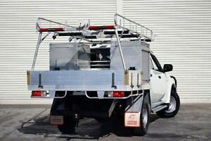 2011 Mitsubishi Triton MN MY11 GLX Double Cab White 4 Speed Automatic Utility Seaford Frankston Area Preview