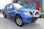 2011 Nissan Navara D40 MY11 ST-X Blue 5 Speed Automatic Utility Hoppers Crossing Wyndham Area Preview