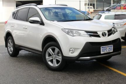 2014 Toyota RAV4 ZSA42R MY14 GXL 2WD Glacier White 7 Speed Constant Variable Wagon Claremont Nedlands Area Preview