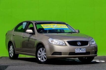 2010 Holden Epica EP MY10 CDX Champagne 6 Speed Sports Automatic Sedan Ringwood East Maroondah Area Preview