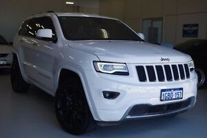 2015 Jeep Grand Cherokee WK MY15 Overland White 8 Speed Sports Automatic Wagon Myaree Melville Area Preview