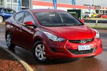 2013 Hyundai Elantra MD2 Active Red 6 Speed Sports Automatic Sedan East Rockingham Rockingham Area Preview