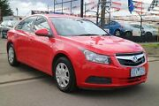 2009 Holden Cruze JG CD Red 6 Speed Automatic Sedan Brooklyn Brimbank Area Preview