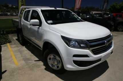 2016 Holden Colorado RG MY17 LS (4x4) White 6 Speed Manual Crew Cab Chassis