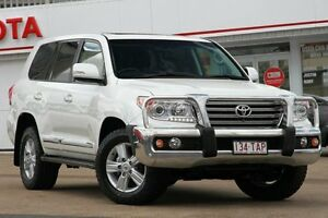 2013 Toyota Landcruiser VDJ200R MY13 Sahara Crystal Pearl 6 Speed Sports Automatic Wagon Woolloongabba Brisbane South West Preview