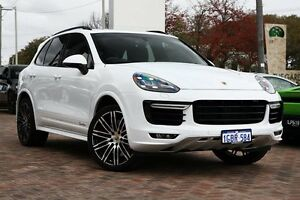 2014 Porsche Cayenne 92A MY15 Turbo Tiptronic White 8 Speed Sports Automatic Wagon Osborne Park Stirling Area Preview