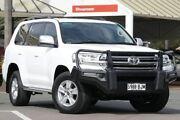 2015 Toyota Landcruiser VDJ200R GXL Glacier White 6 Speed Sports Automatic Wagon Christies Beach Morphett Vale Area Preview