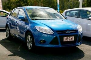 2013 Ford Focus LW MkII Trend PwrShift Winning Blue 6 Speed Sports Automatic Dual Clutch Hatchback Underwood Logan Area Preview