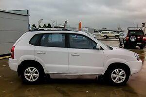 2009 Hyundai Tucson MY09 City SX White 4 Speed Sports Automatic Wagon Pakenham Cardinia Area Preview