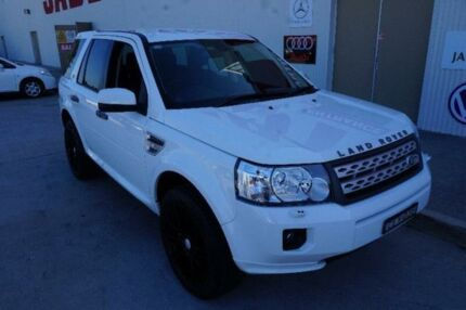 2012 Land Rover Freelander 2 LF Si6 White Sports Automatic Wagon Milperra Bankstown Area Preview