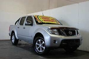 2011 Nissan Navara D40 ST-X 550 (4x4) Silver 7 Speed Automatic Dual Cab Utility Underwood Logan Area Preview